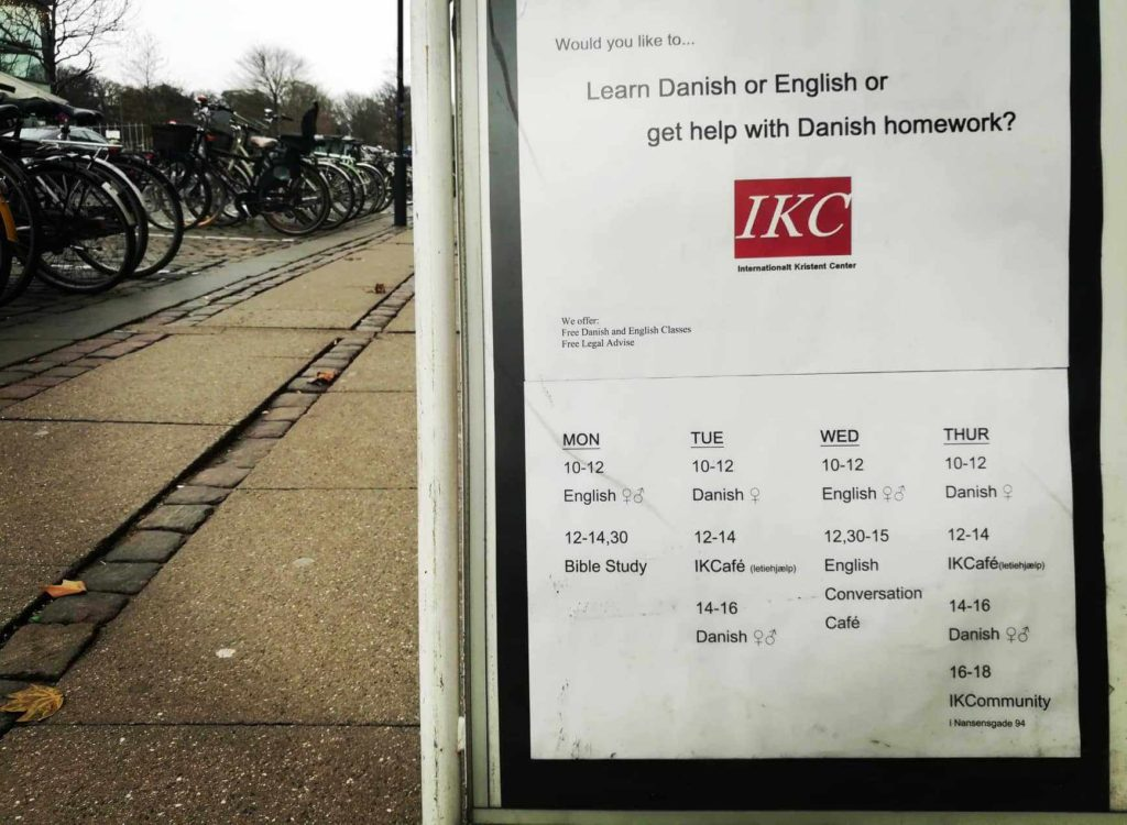 Free language classes in Copenhagen